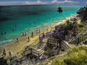 Tulum Beach in Mexico