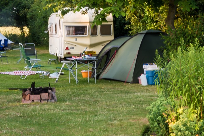 Oldbury Hill, Kent: Camping in the Garden of England