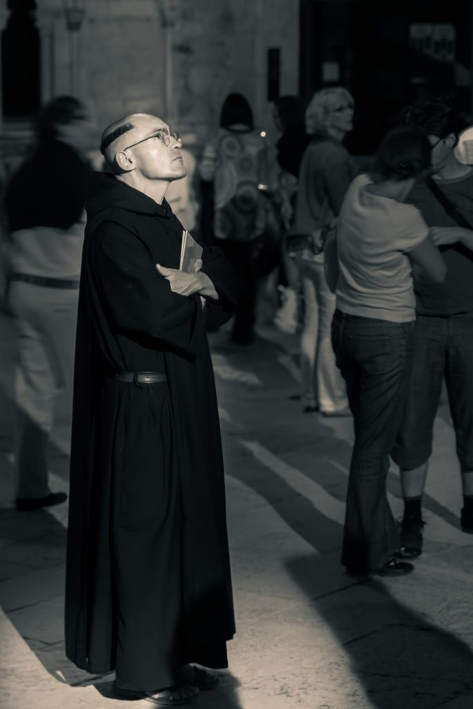 Monk that joined the tour