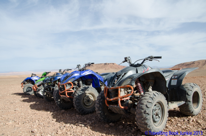 Quad Biking Around The Famous Film Sites of Ouarzazate, Morocco
