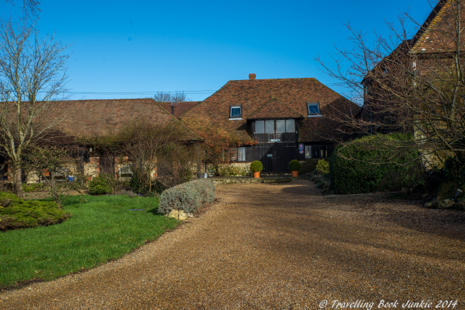 Elvey Farm in Kent UK is a boutique hotel and restaurant