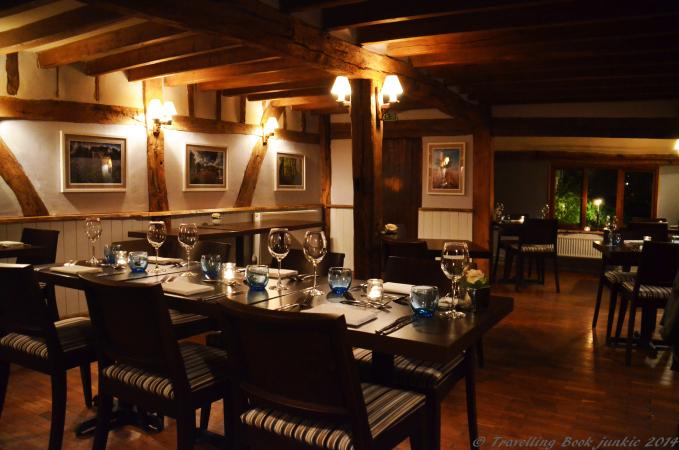 Dining Room Elvey Farm Pluckley Kent Uk