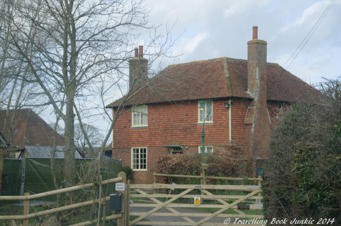 Buss Farm in Kent where the Darling Buds of May with David Jason was filmed in the 1990s.