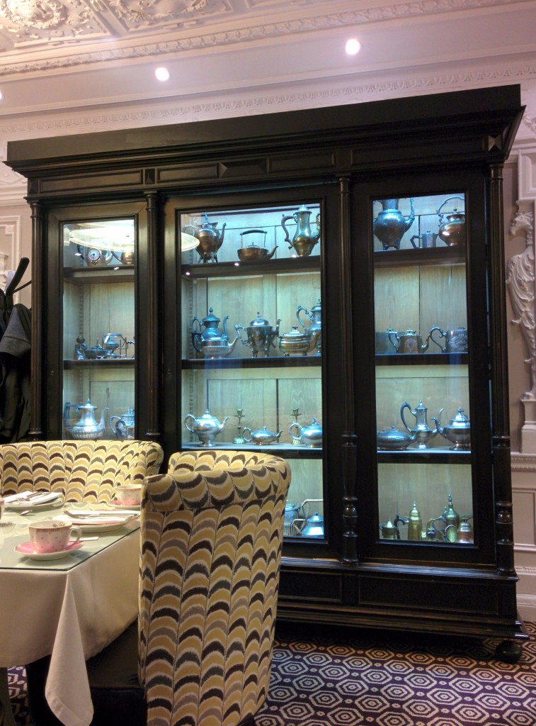 teapots at St Ermins hotel