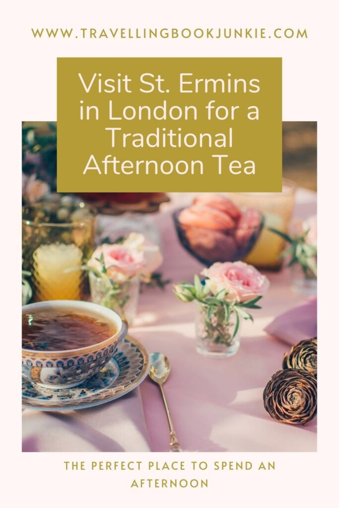 St Ermins in London is the perfect place to visit if you are after a traditional Afternoon Tea setting. REad our full article to find out why. Via @tbookjunkie