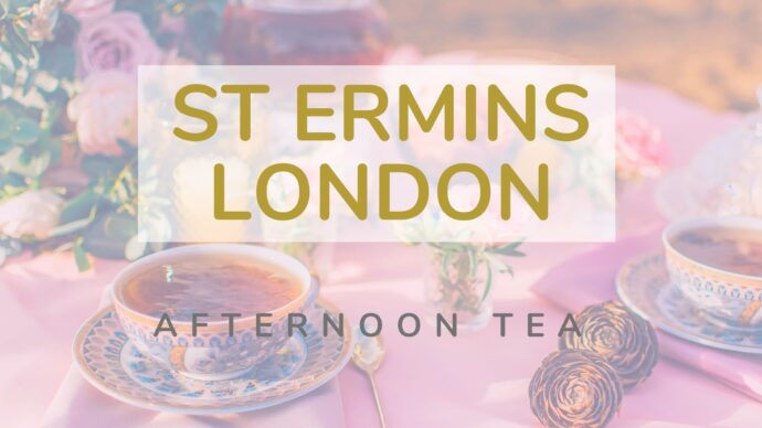 St Ermins Hotel in London is the perfect setting for a traditional Afternoon Tea