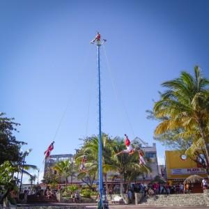 Street Entertainment playa del carmen mexico