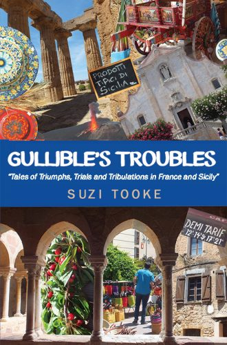 The book cover of Gullibles Troubles written by Suzi Tooke