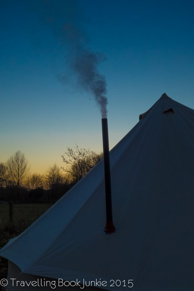 Night at ambers bell tents norfolk