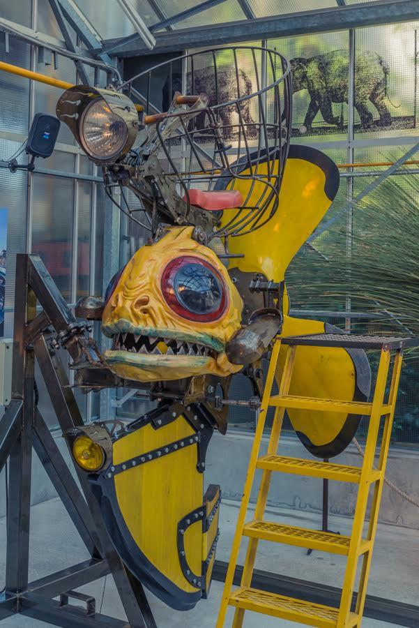 Creation invention Machines Des Ile Galaries Nantes France
