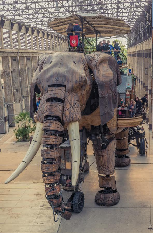 The Giant Elephant Nantes Les Machines Des I'Ile invention Jules Verne