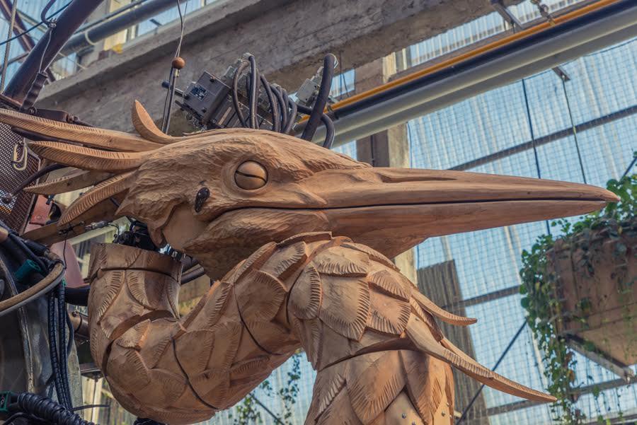 Giant Heron of Machines Des Ile Nantes France