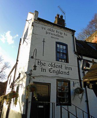 Ye Old Trip to Jersalem, Oldest Pub, England, Nottingham