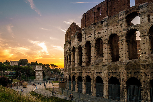 Coliseum, Rome, Italy, Travelling Book Junkie