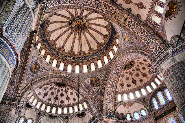 Exotic places, Istanbul, Blue Mosque