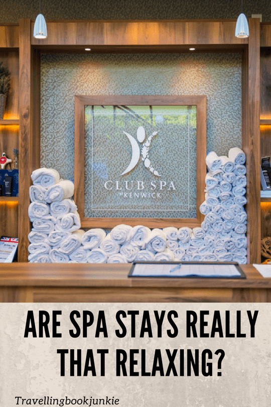 Are spa stays as relaxing as people say they are? With the help of SpaSeekers and Best Western Kenwick PArk we decided to find out