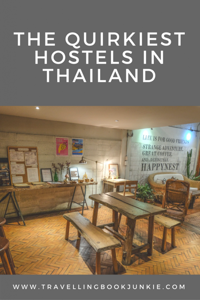 A guide to the quirkiest hostels in Thailand. If you are after something different, like an element of luxury but don't want to pay a fortune, then this is the guide for you. This article has #hostel suggestions around #Thailand from a number of different #bloggers via @tbookjunkie