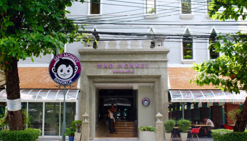 Hostels, Mad Monkey Hostel, Bangkok, Thailand, Asia, Quirky Accommodation