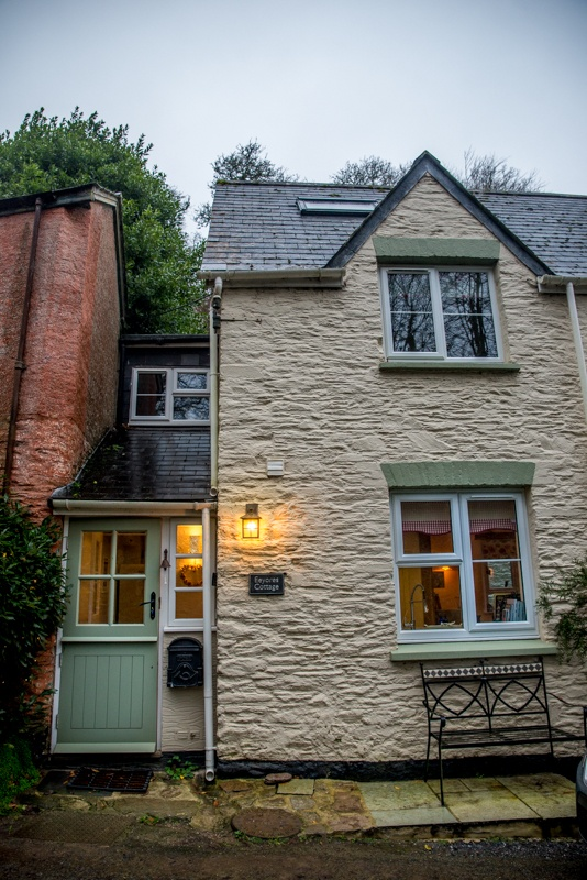cottages, Dartmouth, Blackpool sands, Eeyore's cottage, Winnie the Pooh, Christopher Robin, house, home, dream, A A Milne, childrens books,