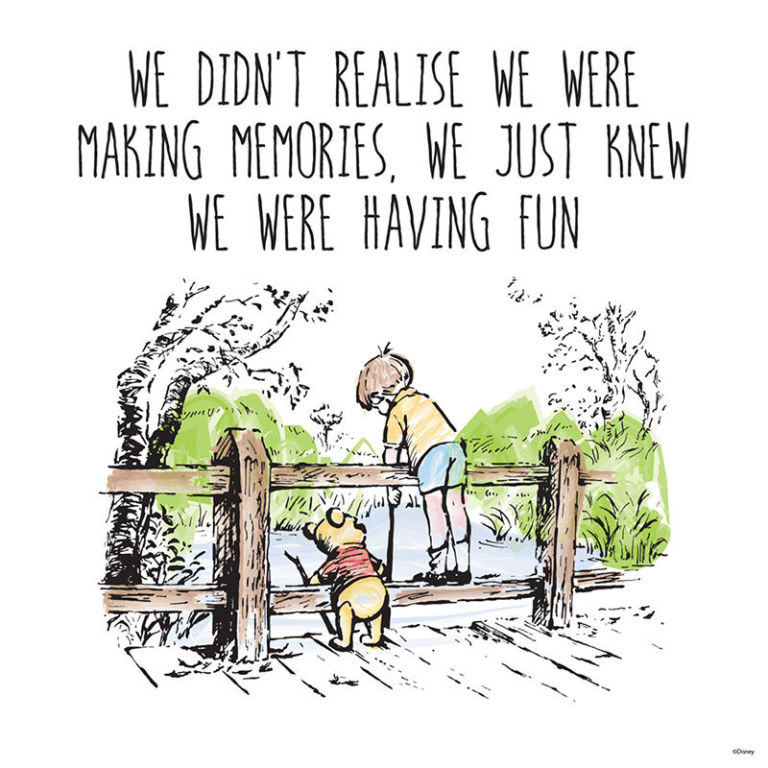 Winnie the Pooh Quote from A.A. Milne