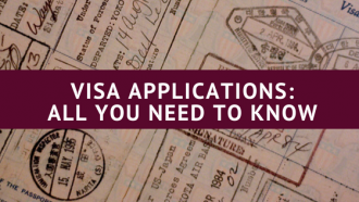 Visa applications, freedom of travel
