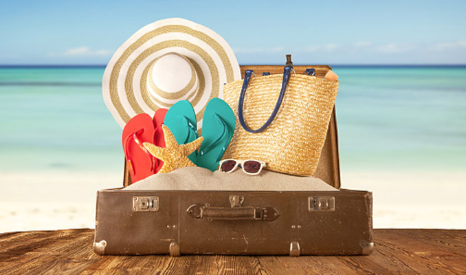 Holidaymaker, time for a vacation, travel insurance, protection while travelling