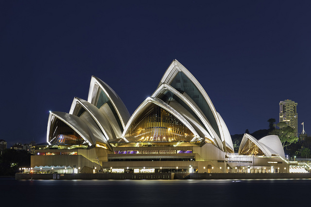 The Sydney Opera House is an iconic monument in Australia and one everyone should visit when travelling around the country.
