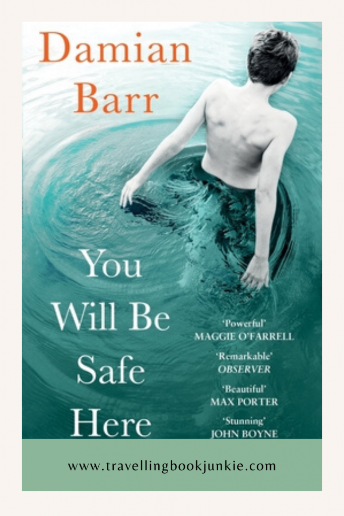 You Will Be Safe Here is the first fictional novel by Damian Barr, host of The Literary Salon. You can read the full review via @tbookjunkie