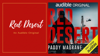 Red Desert by Paddy Magrane is an audible original set in the Iraqi Desert