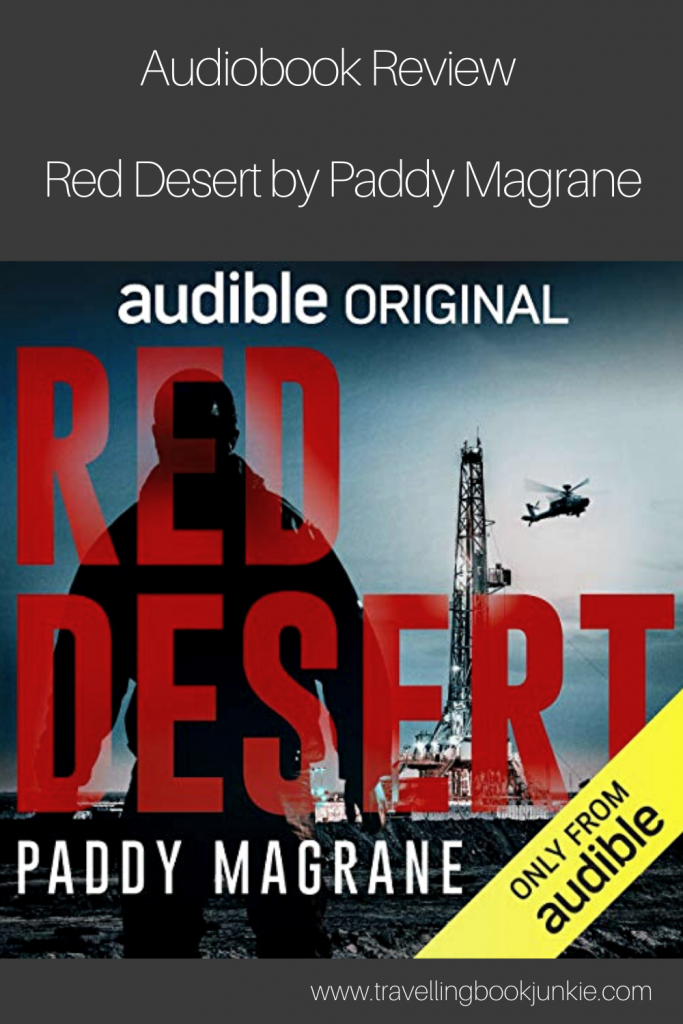 Red Desert by Paddy Magrane is an audible original audiobook about a psychotherapist who wants to escape his own problems by heading to Iraq. Read the full review via @tbookjunkie