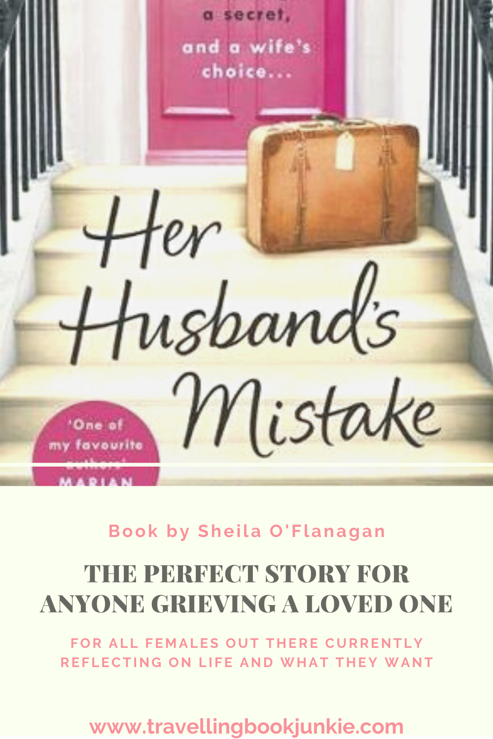 Her Husband's Mistake by Sheila O'Flanagan is a story of lose, grieving and self-realisation that life isn't what you hoped for. For a full review visit @tbookjunkie