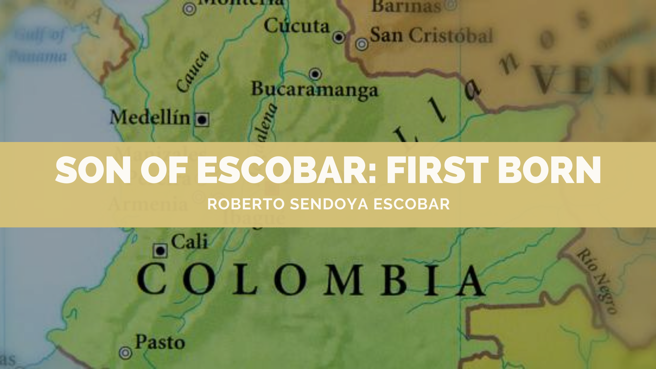 Son of Escobar: First Born is a book by Roberto Sendoya Escobar who claims to be the first born son of the infamous drug lord, Pablo Escobar