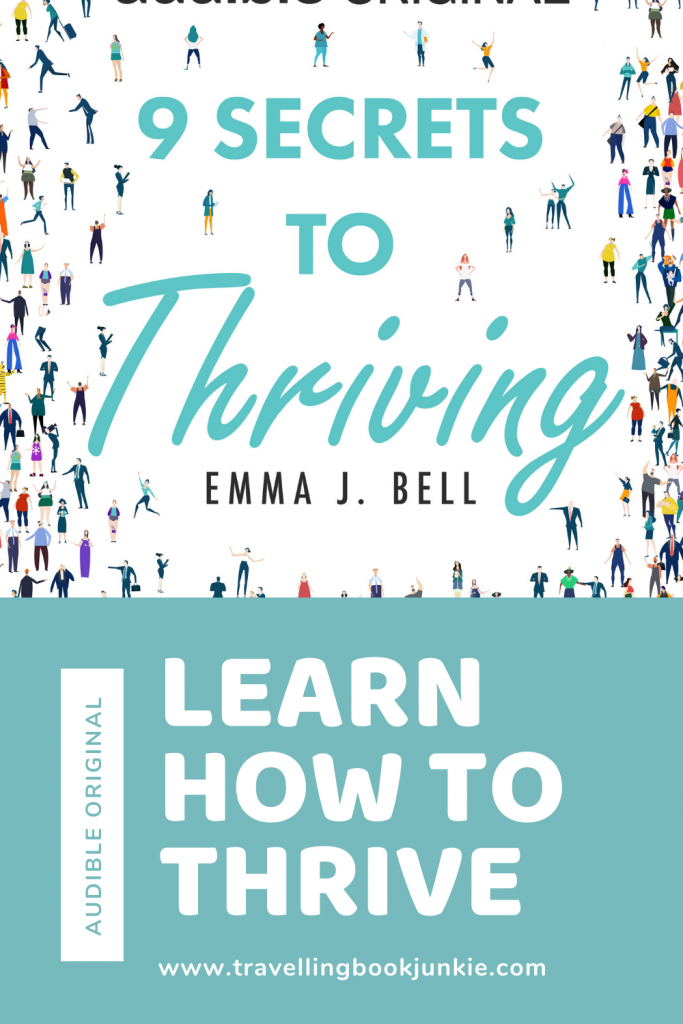 Learn how to strive and thrive with Emma J. Bell as she highlights the secrets to success in this audible original book. Full review is available @tbookjunkie