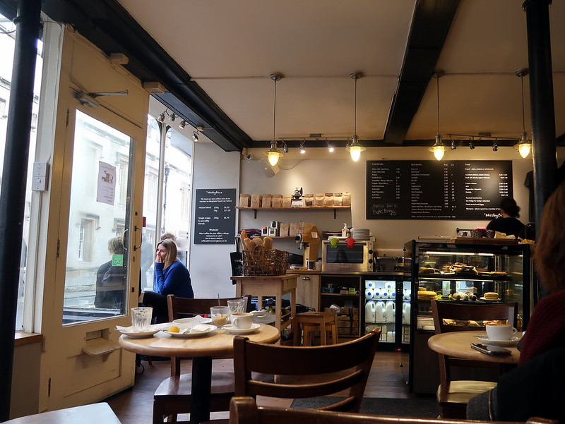 The Missing Bean cafe in Oxford, UK