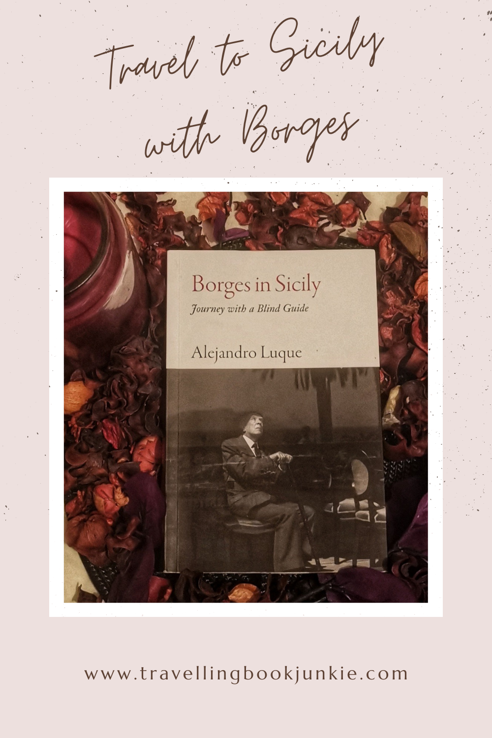 Borges in Sicily by Alejandro Luque recreates the trip that Borges took after he lost his sight. See the full review on @tbookjunkie on this travelogue.