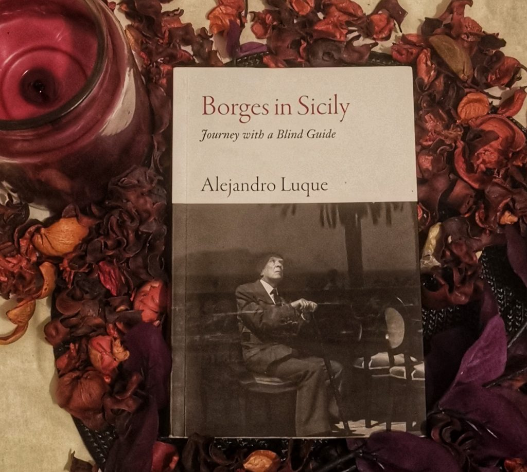 Borges in Sicily by Alejandro Luque