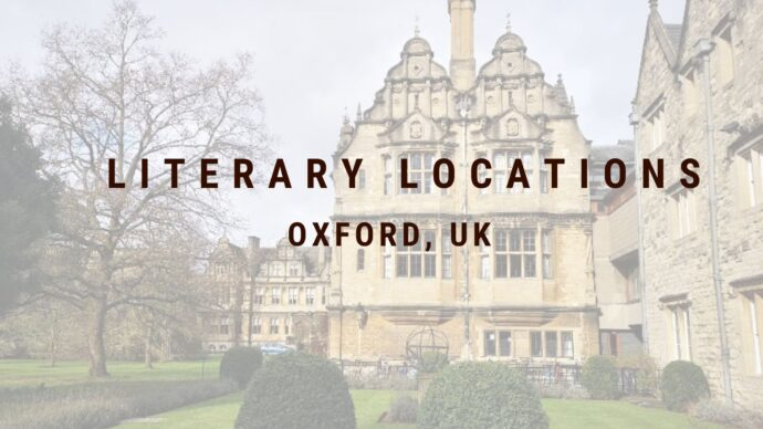 How about a staycation to a literary location in Oxford, UK. Join us as we wander the streets of this historical university city.