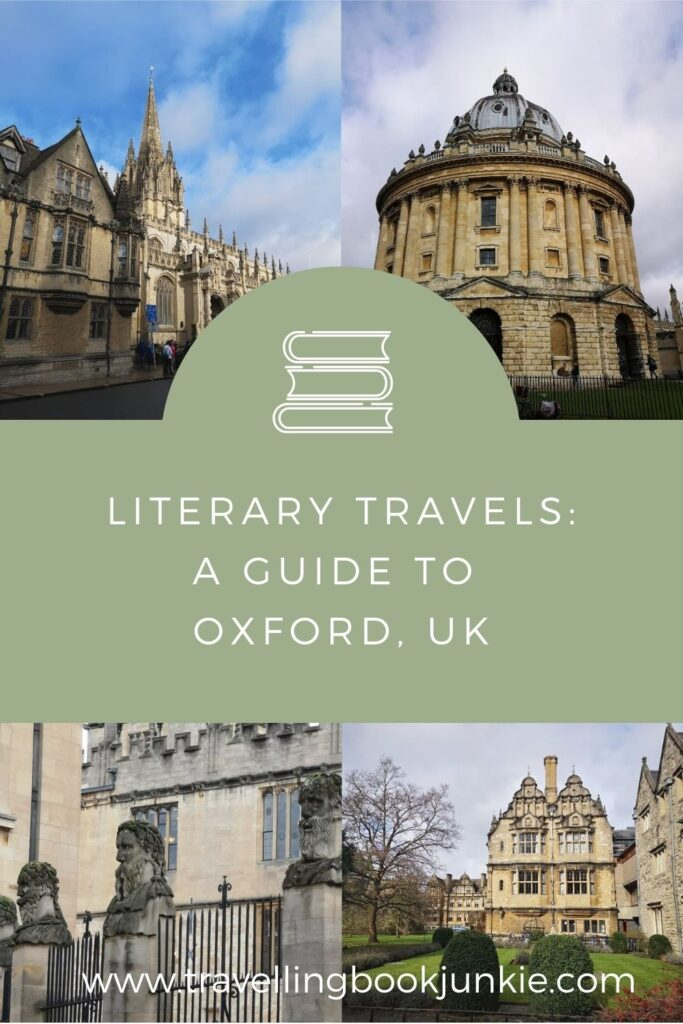 A literary guide to Oxford in the UK. Where to stay, what to do and where to eat via @tbookjunkie plus the best bookshops for bookworms to explore.