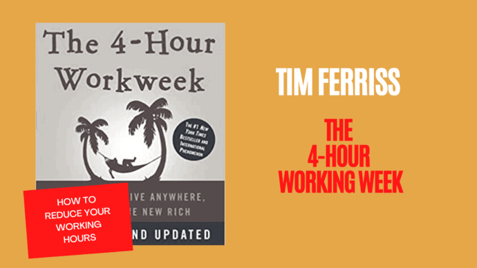 The 4 Hour Working Week by Tim Ferriss is here to help us work less and live more.