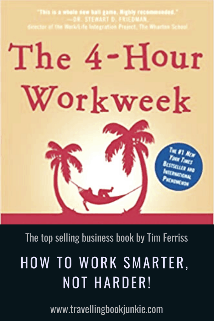 Want to know the secrets to working less? The 4 Hour Working Week by Tim Ferriss highlights exactly what we need to do to work less and enjoy life more. See a full review via @tbookjunkie for more information