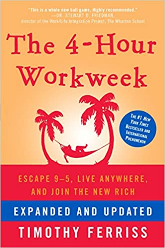 The 4 Hour Working Week by Tim Ferriss is here to make our working lives easier. Who would not want to work less!