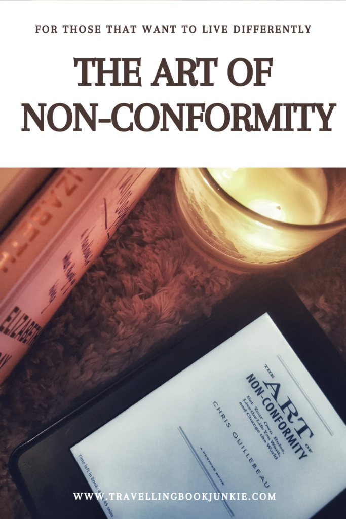 The Art of Non-Conformity is a #nonfiction book, designed to #motivate you to live a life of your choosing. Written by Chris Guillebeau, reviewed in full by @tbookjunkie