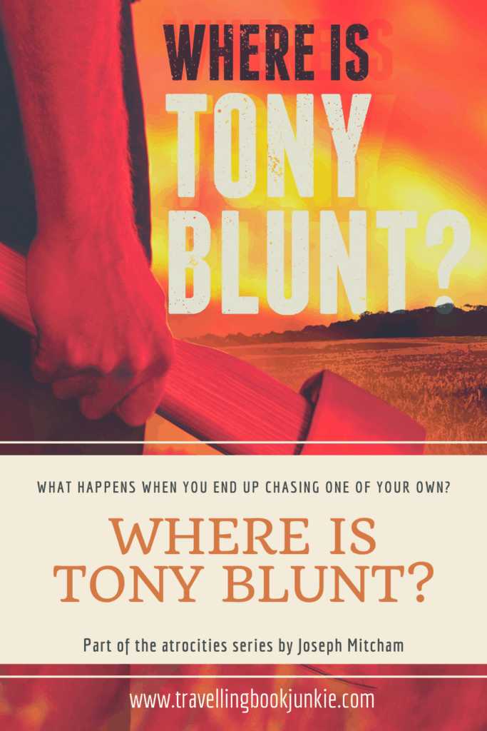 Where is Tony Blunt? is the second in the atrocities series by Joseph Mitcham. This time we see Alex and the multi-agency team focus on trying to stop a #terrorist attack by one of their own. Will they succeed? Only time will tell. Full review available at @tbookjunkie #spythriller #crimenovel