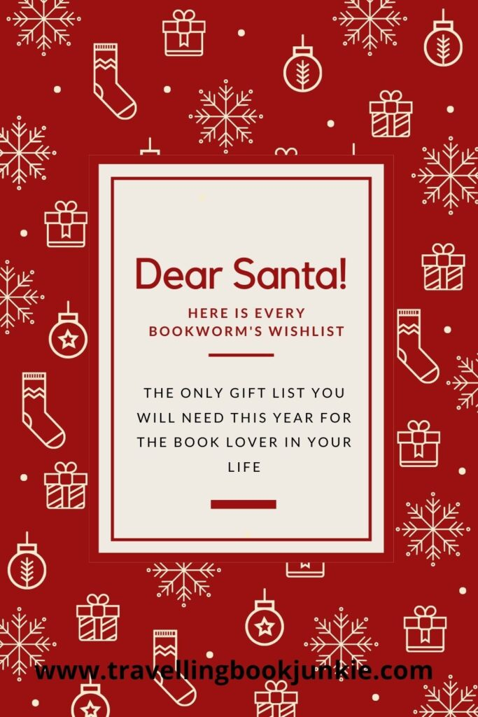 A list of the best gifts for your bookworm this Christmas via @tbookjunkie
