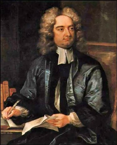 Jonathan Swift author of Gulliver's Travels