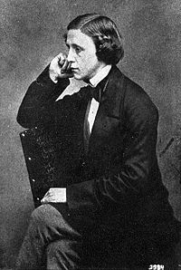 Lewis Carroll author of Alice in Wonderland and Graduate of Oxford.