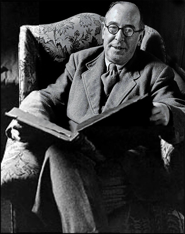 C.S. Lewis. a member of the Inklings group and author of the Chronicles of Narnia