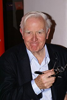 John le Carre, author of some of the greatest spy novels and Oxford Graduate