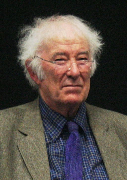 Seamus Heaney, world famous poet