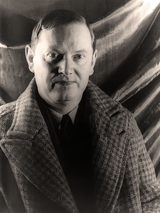 Evelyn Waugh author of Brideshead Revisited